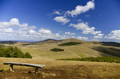 Mountain, Zlatibor,Serbia. Mountains landscape with blue sky, Zlatibor, Serbia Stock Images