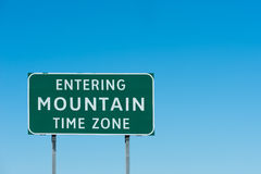 Mountain zone Stock Images
