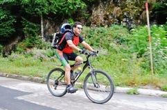 Mountainbike Arkivbilder