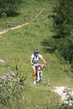 Mountainbike Fotografie Stock