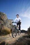 Mountainbike Images libres de droits
