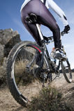 Mountainbike Stockfoto
