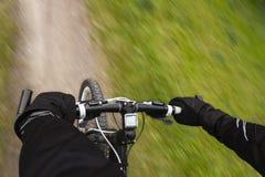 Mountainbike fotos de archivo