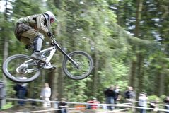 Mountainbike photographie stock libre de droits