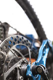 Mountainbike disc brake Royalty Free Stock Photo