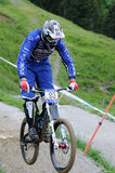 Mountainbike Downhill Stock Photography