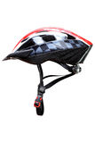 Mountainbike helmet Royalty Free Stock Images