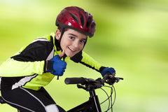 Mountainbike okay Stock Photos