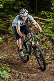 Mountainbiker Royalty Free Stock Images