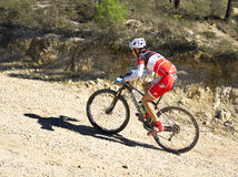 Mountainbiker stock photos
