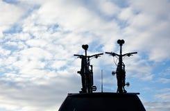Mountainbikes на автомобиле Стоковые Фотографии RF