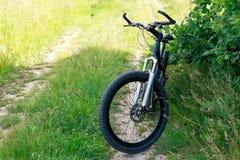 Mountainbiket Arkivfoton