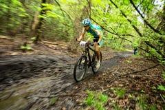 Mountainbikewettbewerb Stockfotos