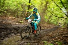 Mountainbikewettbewerb Lizenzfreie Stockfotografie
