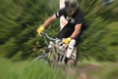 Mountainbikezoom 24 fotografering för bildbyråer