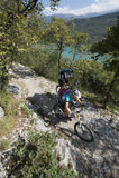 Mountainbiking -登山车 免版税库存图片