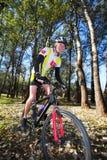Mountainbiking #1 stockfotografie
