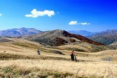 Mountainbiking Stock Images