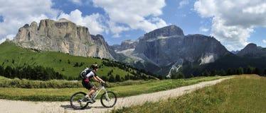 Mountainbiking Stock Photos