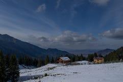 mountaine Bucegi,罗马尼亚 库存图片