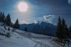 mountaine Bucegi,罗马尼亚 免版税库存照片
