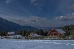 mountaine Bucegi,罗马尼亚 免版税库存图片