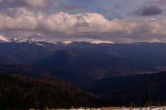 Mountaine Bucegi, Румыния Стоковое фото RF