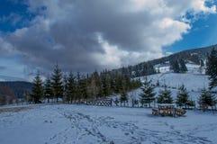 Mountaine Bucegi, Румыния Стоковая Фотография