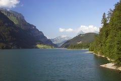 Mountaine See stockbild