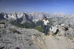 Mountaineer Royalty Free Stock Photography