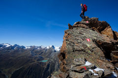 mountaineer Fotografie Stock