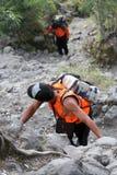 mountaineer fotografie stock libere da diritti