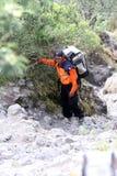 mountaineer fotografie stock