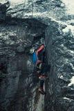 mountaineer fotografia stock