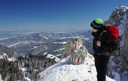 mountaineer Royalty-vrije Stock Afbeelding