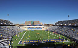 Mountaineer Field - Morgantown, WV royalty free stock photography