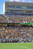 Mountaineer Field - stands and press box Stock Photos