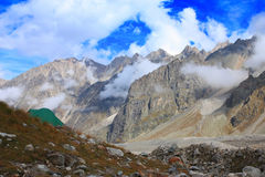 mountaineering лагеря Стоковое фото RF