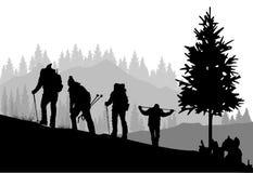 mountaineering Imagem de Stock