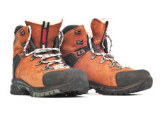 Mountaineering boots Stock Images