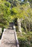 Mountaineering road Stock Photos