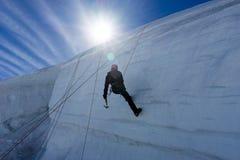 Mountaineering sport Stock Photography