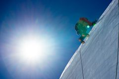 Mountaineering sport Stock Image