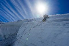 Mountaineering sport Stock Photos
