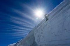 Mountaineering sport Royalty Free Stock Photo