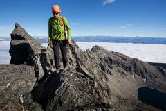 Mountaineering Royalty Free Stock Photo
