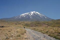 Mount Agri Ararat stock photo