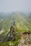 Mountaineous summer landscape Stock Photos