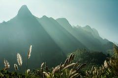 Mountaines van Laos Stock Afbeelding