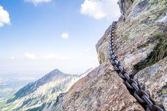 Mountainous adventure Stock Images